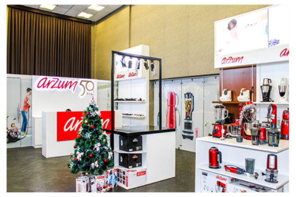 """ARZUM"" Showcase stands"